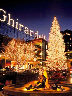 Ghirardelli Square Christmas Tree